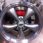 Bullit wheel with disc and wilwood caliper